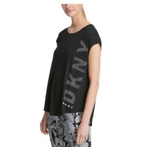 Dkny Womans Extra Small Active Wear Sport Logo NEW